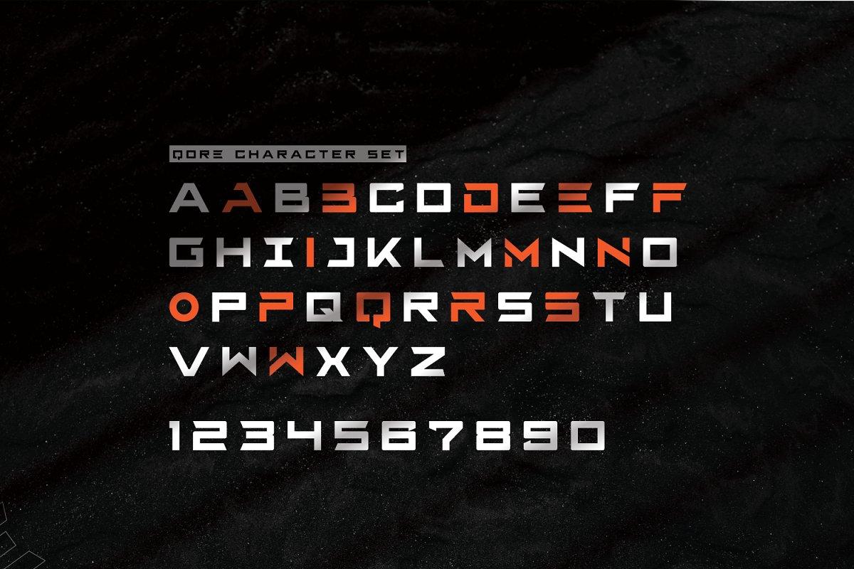 Qore Typeface-3