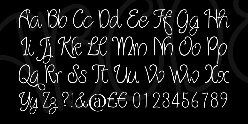 Quirlycues Font-4