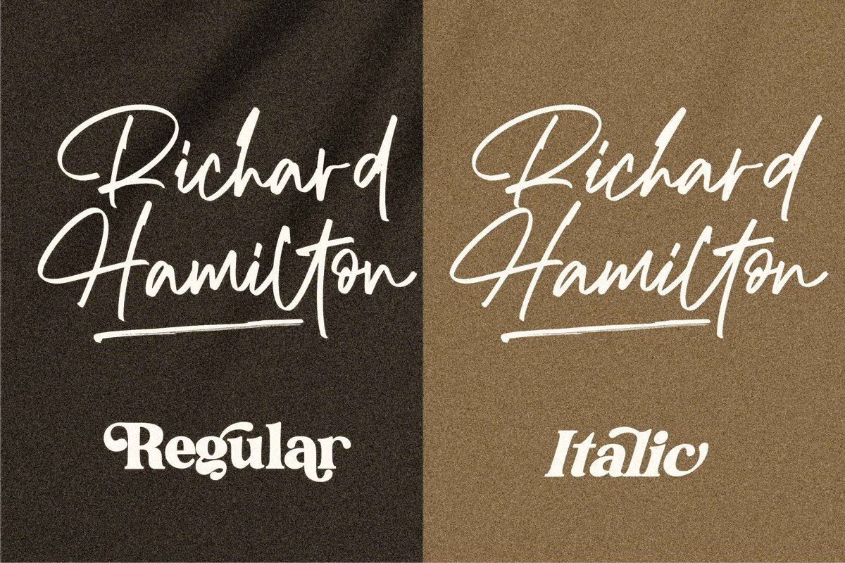 Richard Hamilton Font-2