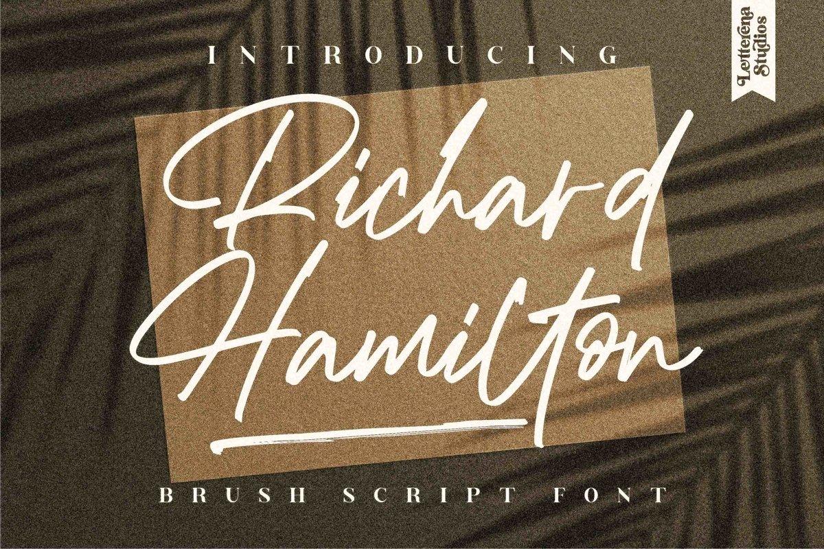 Richard Hamilton Font