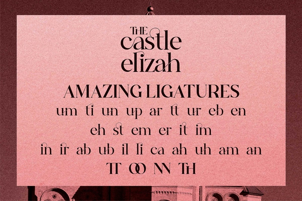 The Castle Elizah Font-3