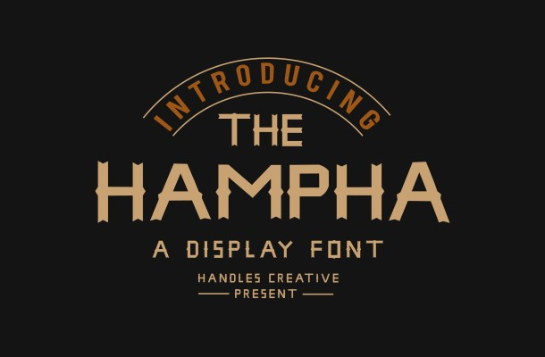 The Hampha Font