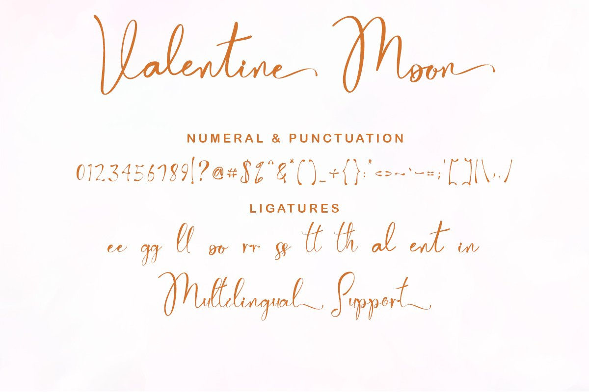 Valentine Moon Font-3