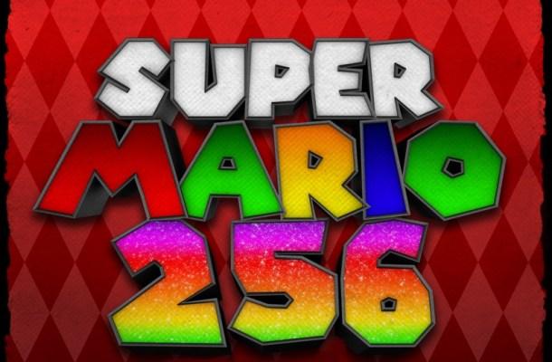 Super Mario 256 Font