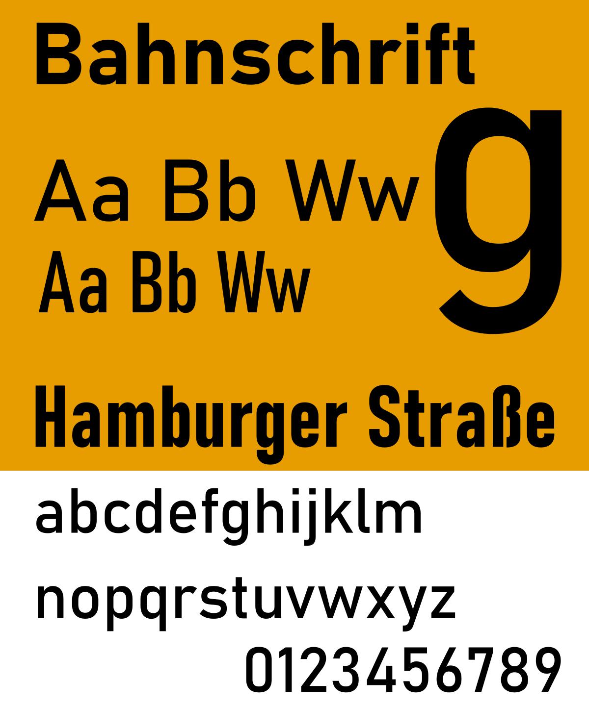 Bahnschrift Font-2