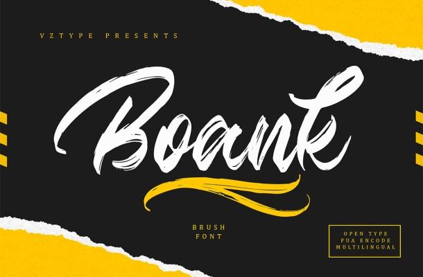 Boank Font