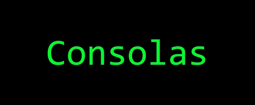 Consolas Font