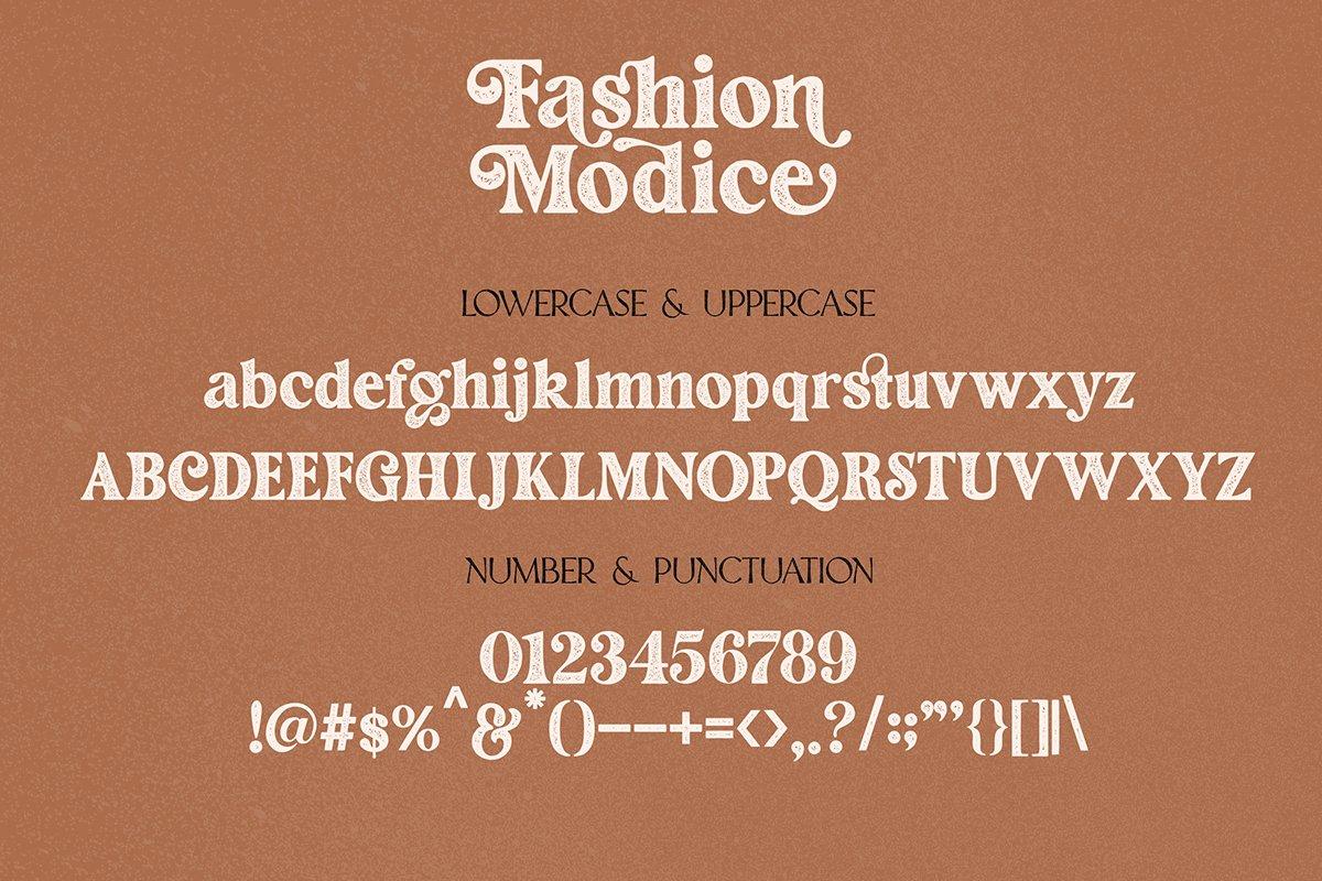 Fashion Modish Font-3