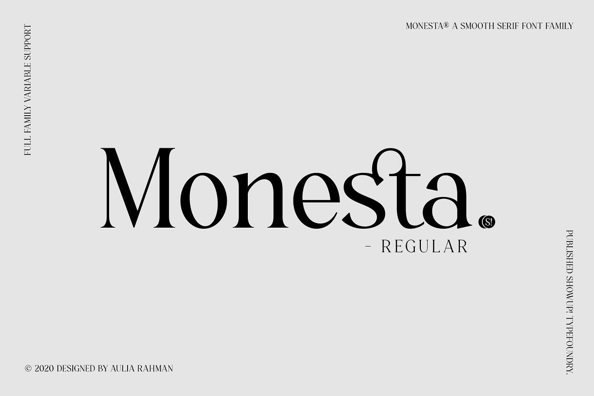 Monesta Font