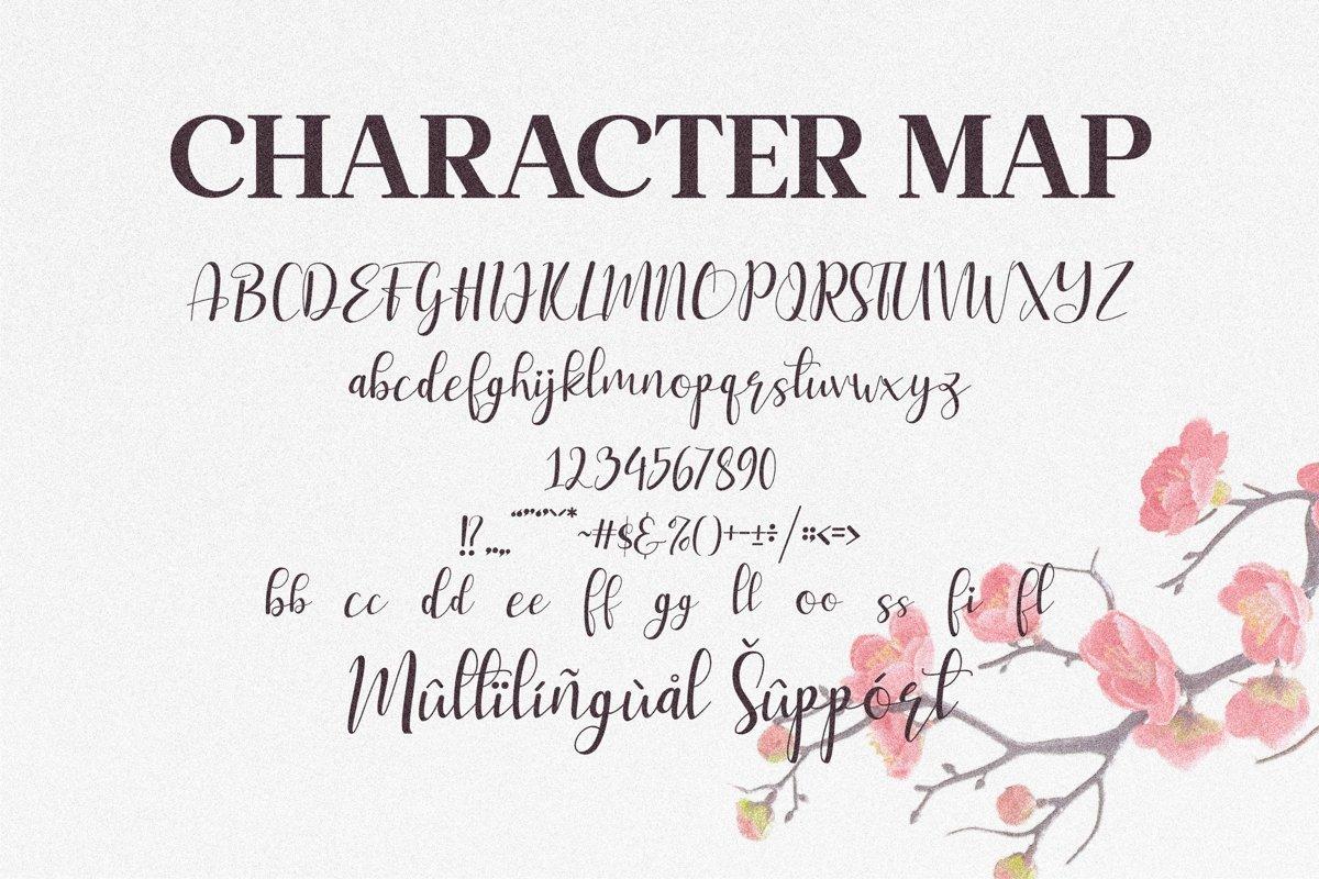 My Love Font-3