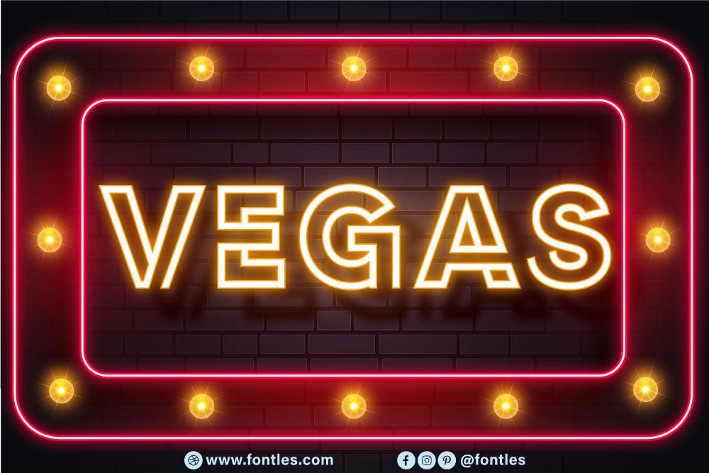 Neon Led Light Font-2