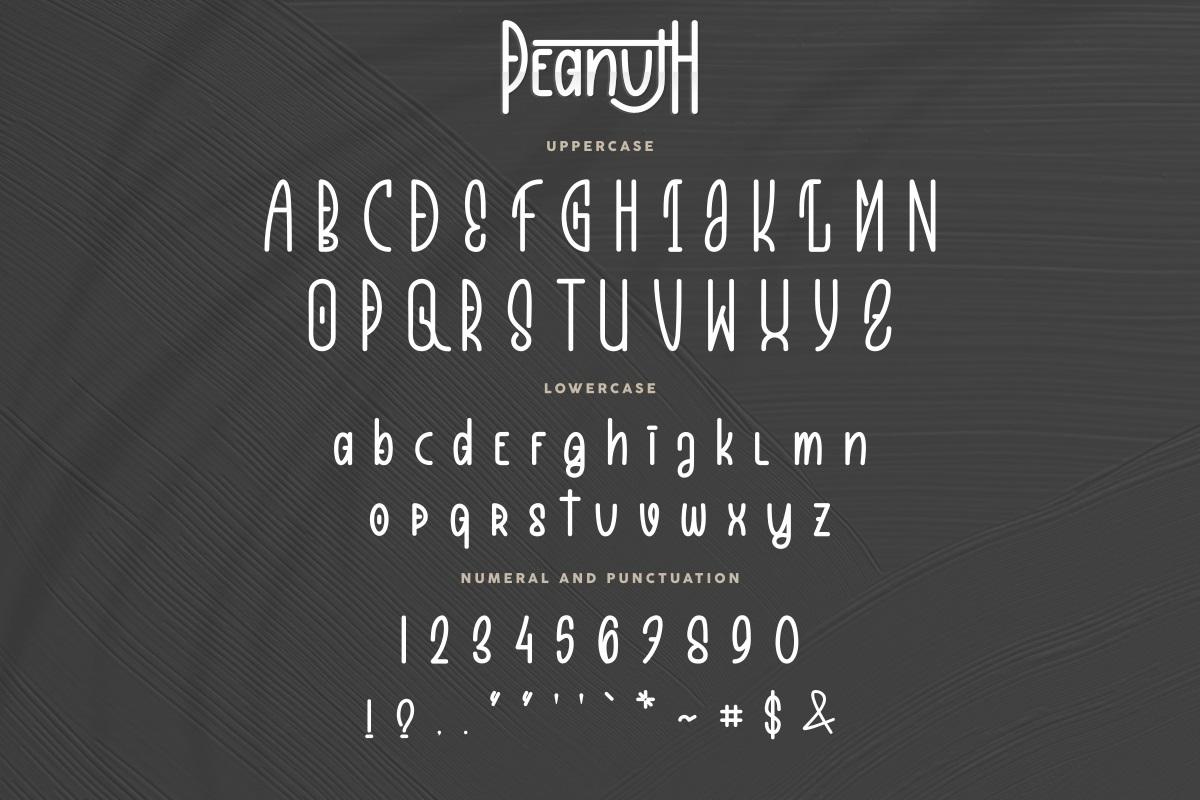 Peanuth Font-3