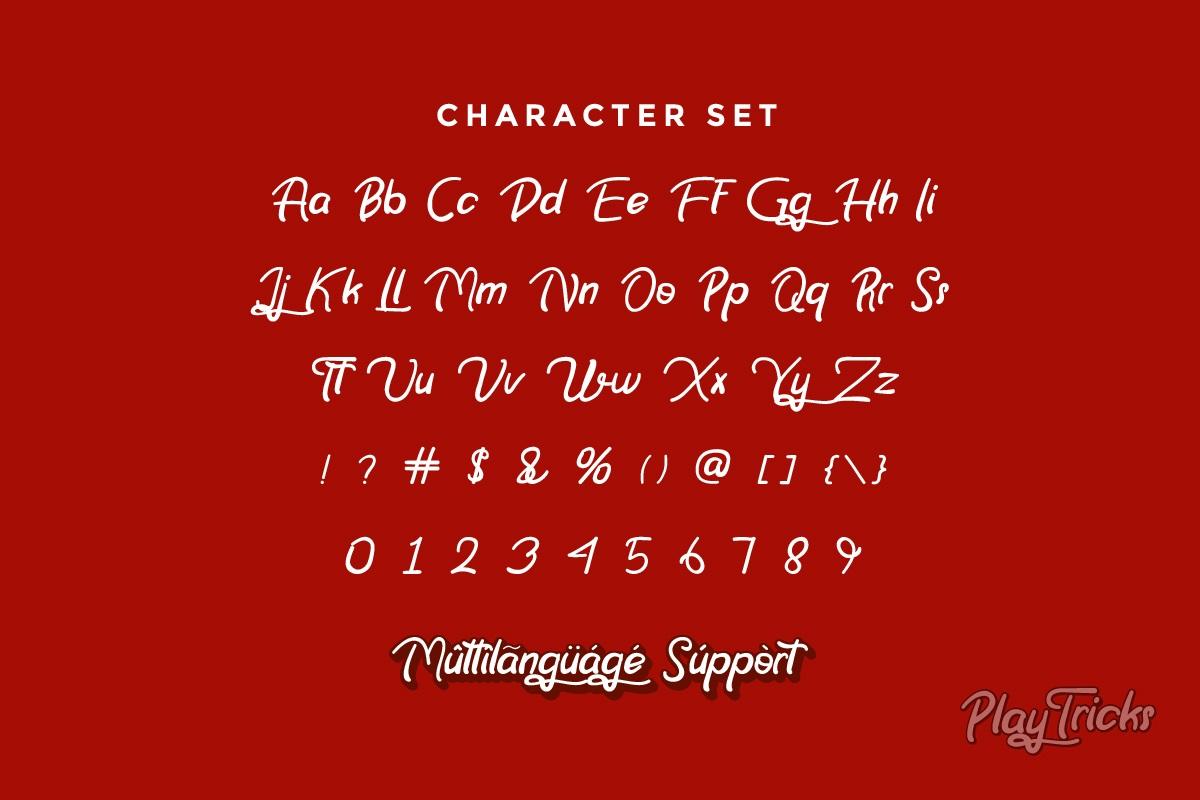 Play Tricks Font-3