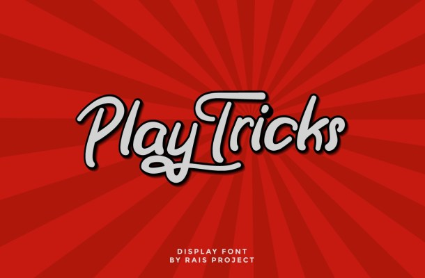 Play Tricks Font