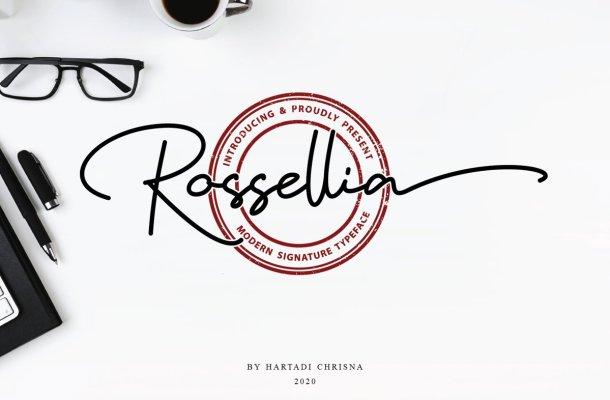 Rossellia Font