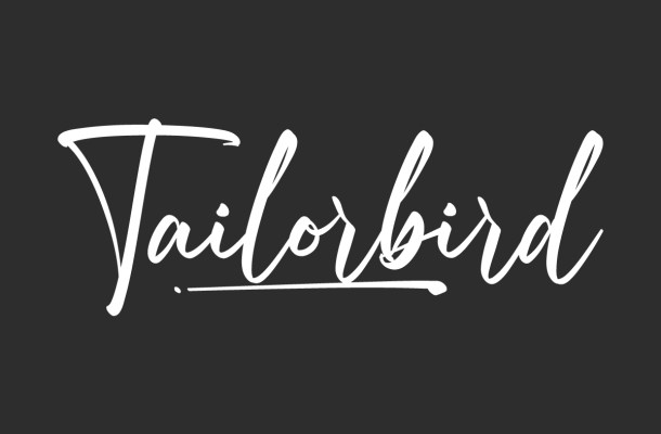 Tailorbird Font