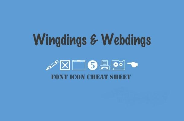 Webdings Font