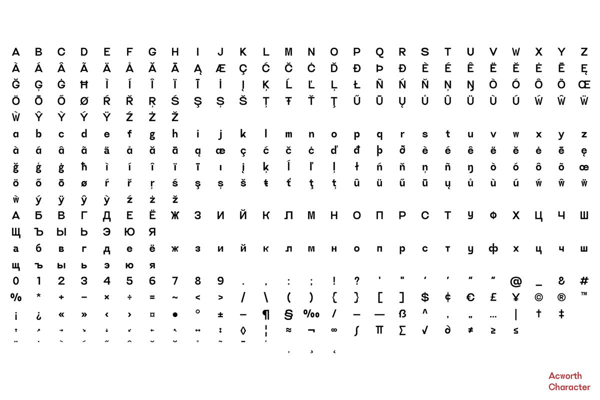 Acworth Font-3