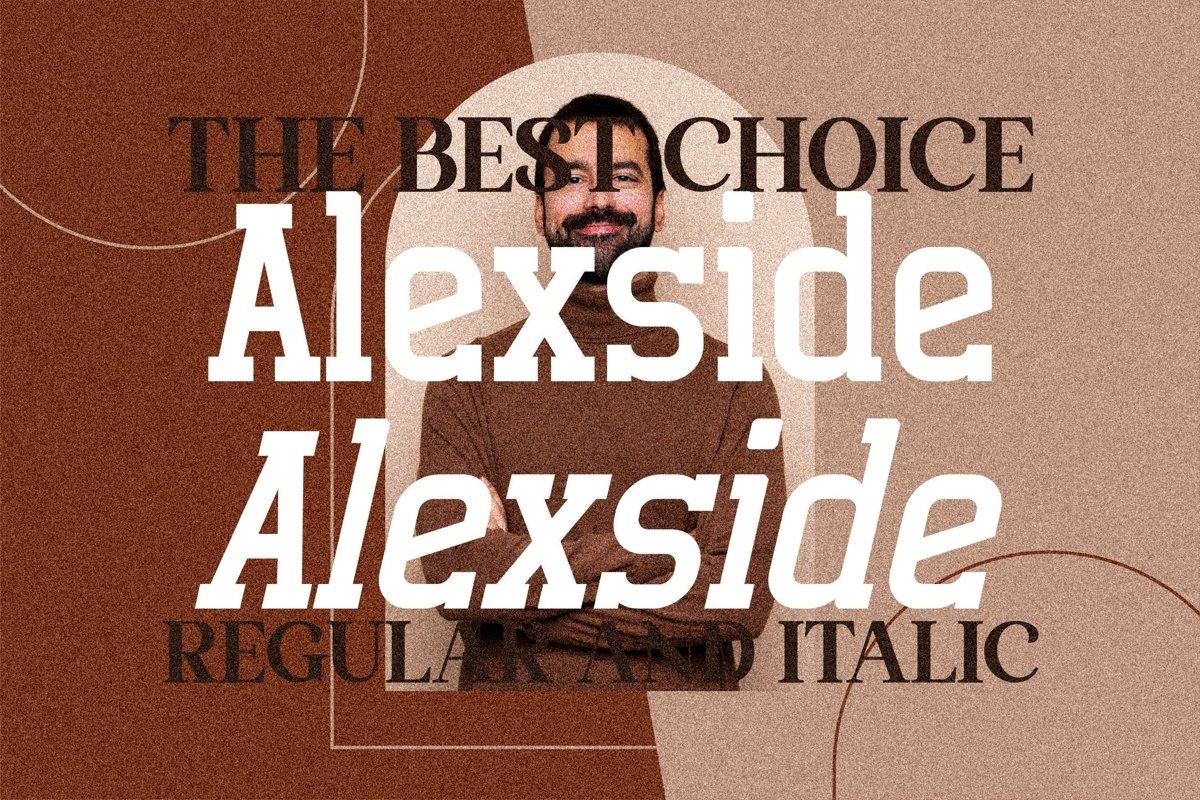 Alexside Font-2