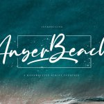 Anyer Beach Font