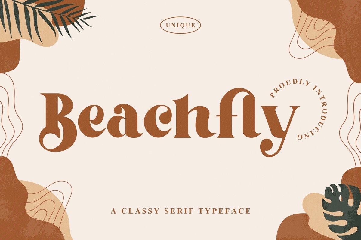Beachfly Font