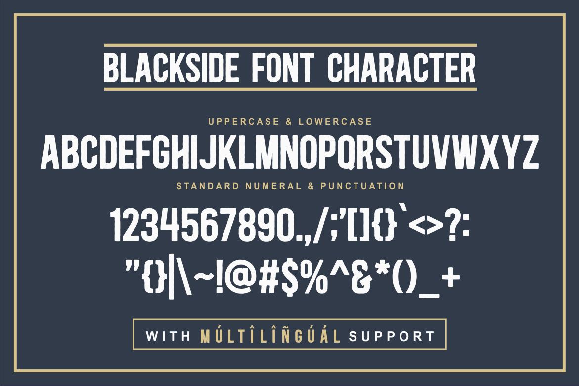 Blackside Font-3