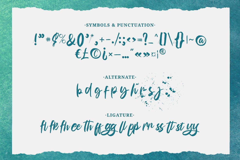 Bunaken Font-3