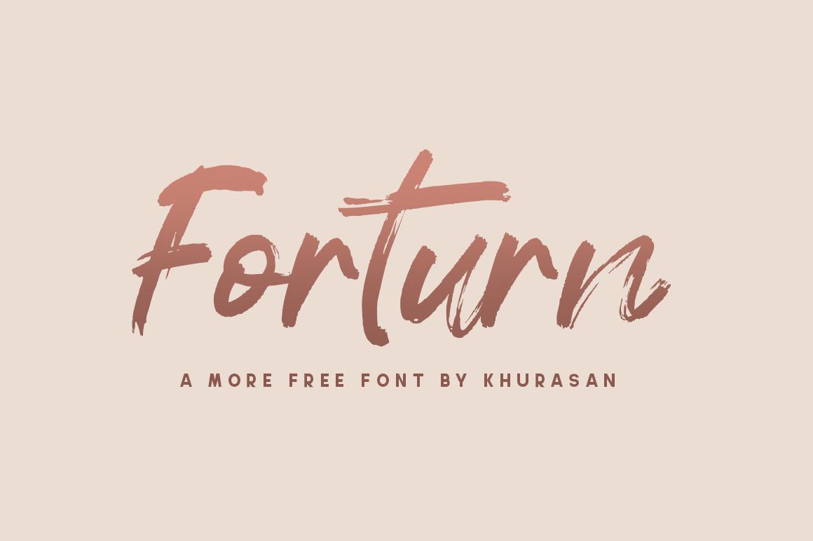 Forturn Font