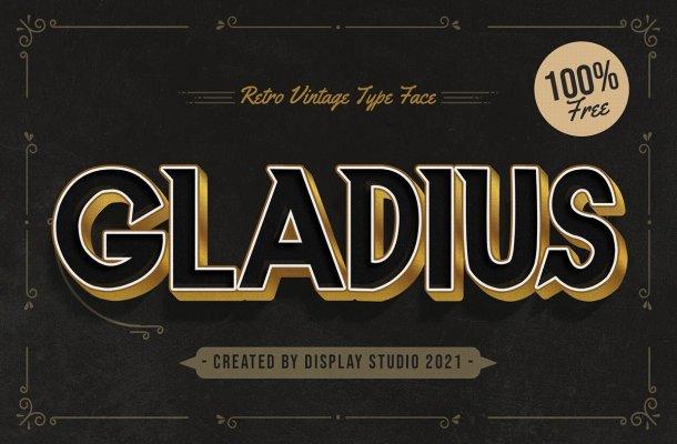 Gladius Font