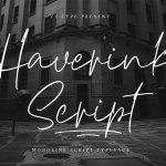 Haverink Font