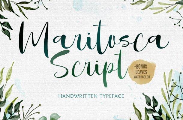 Maritosca Typeface