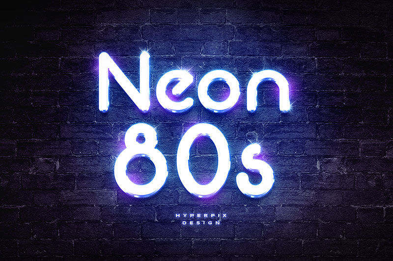 Neon-80s-Font