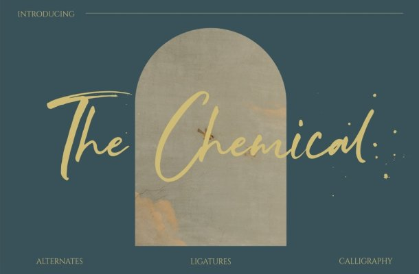 The Chemical Font
