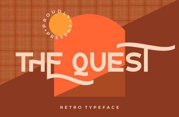 The Quest Font