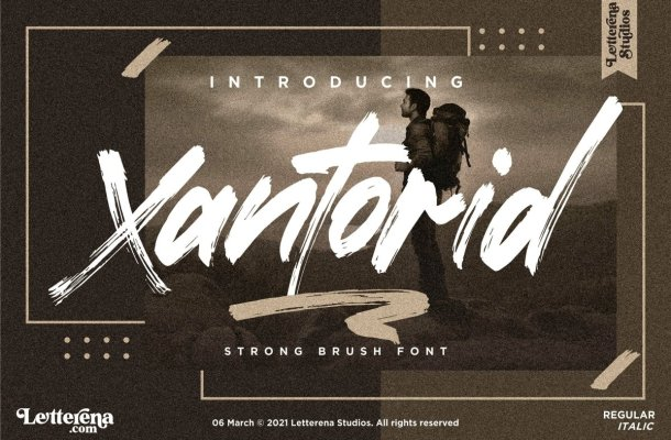Xantorid Font