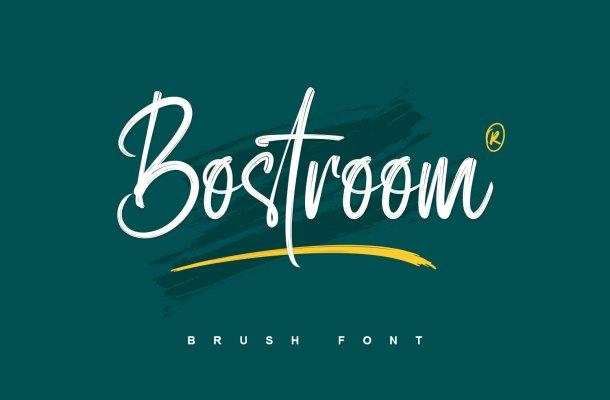 Bostroom Font