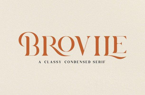 Brovile Font