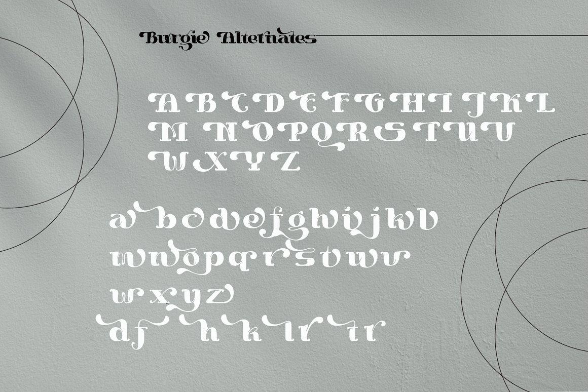 Burgie Font-2