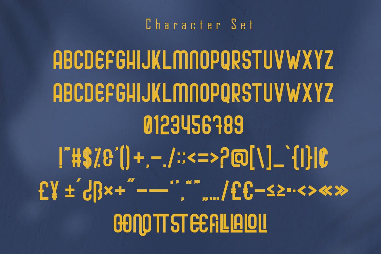 Cafiloser Font-3