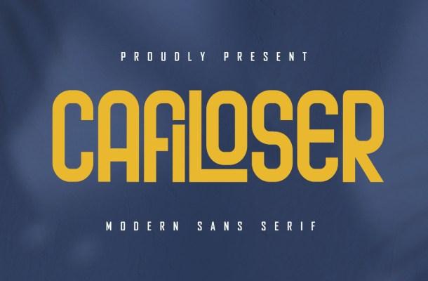 Cafiloser Font