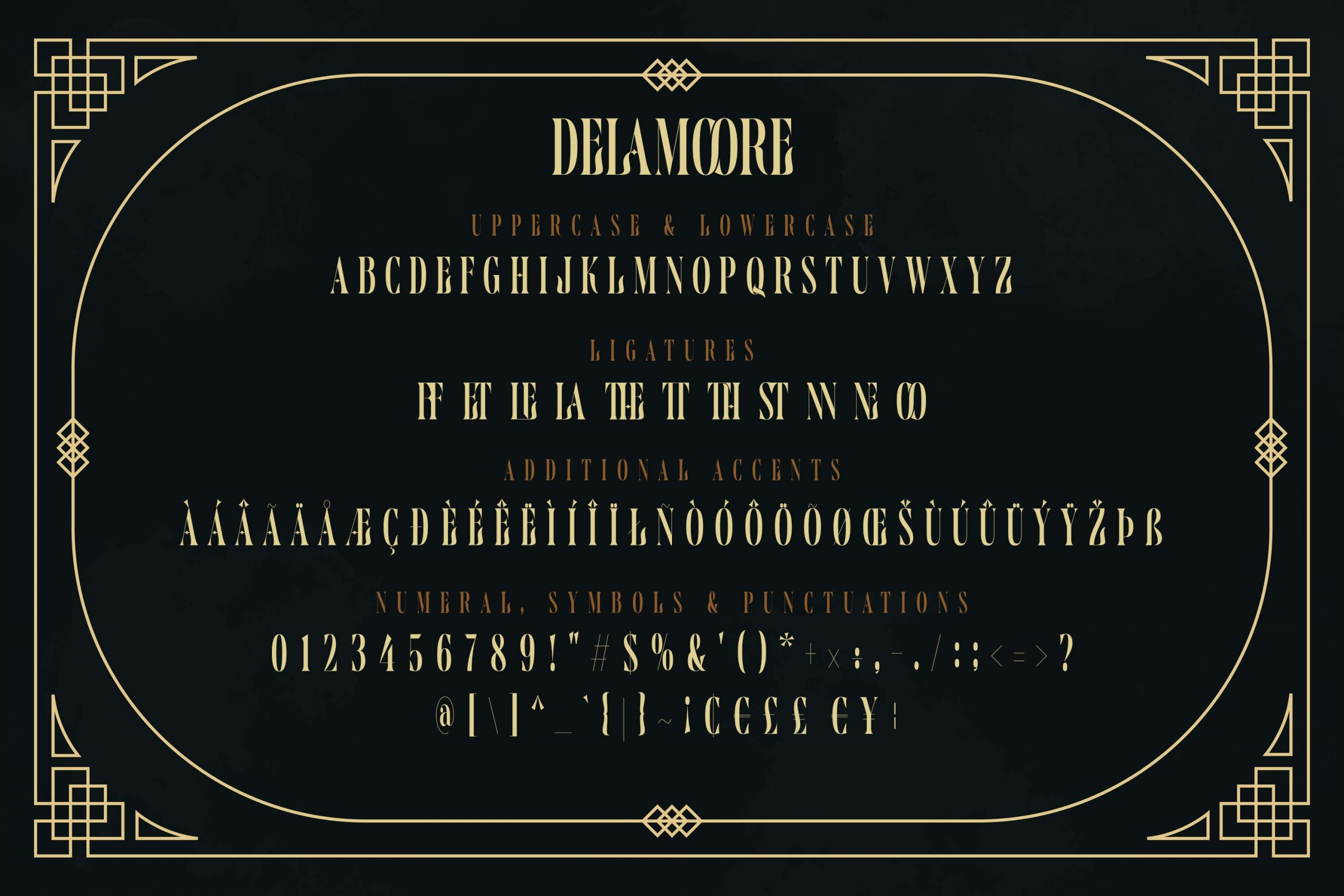 Delamoore Font-3