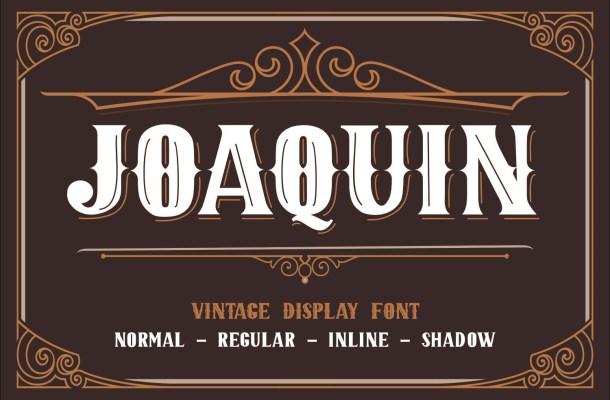 JOAQUIN Font