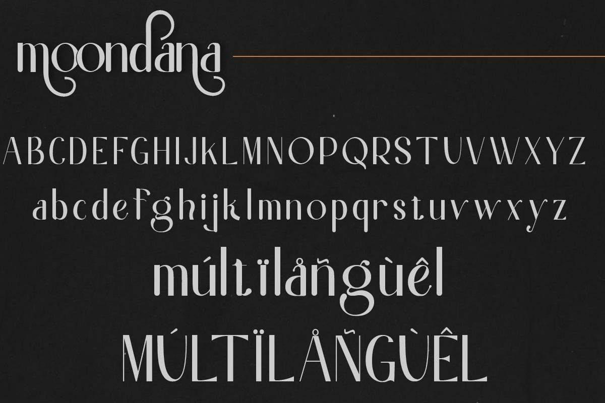 Moondana Font-2