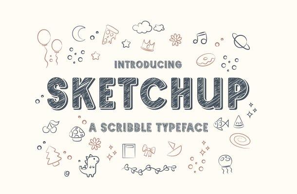 Sketchup Font