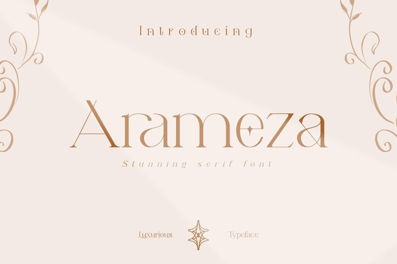 Arameza Font