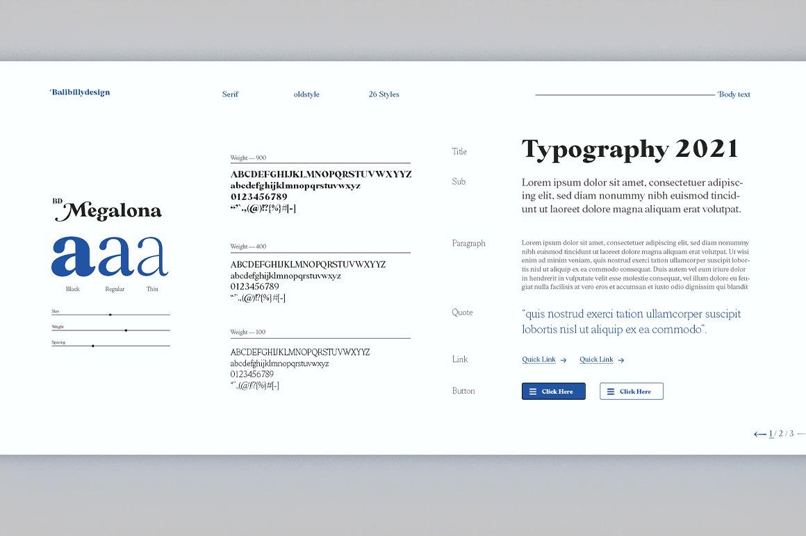 BD Megalona Font-3