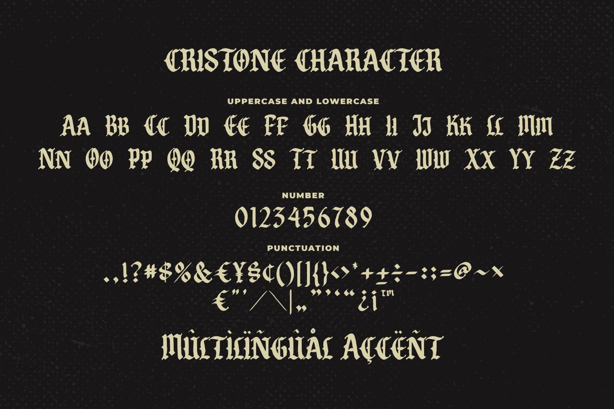 Cristone Font-3