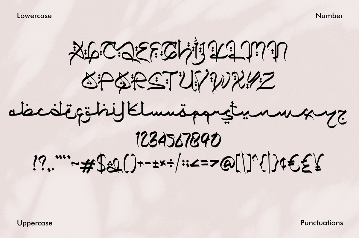 Qiyamu Ramadhan Font-3