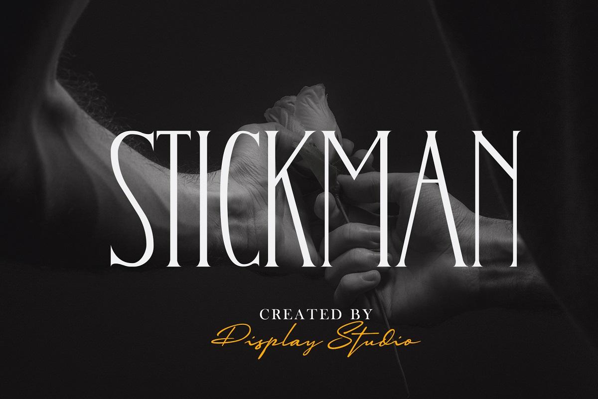 Stickman Font
