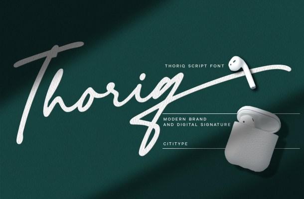 Thoriq Font
